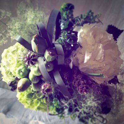 初夏のブーケ,紫陽花のブーケ