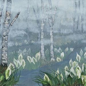 湿原の天使