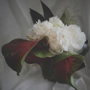 design bouquet,芍薬ブーケ