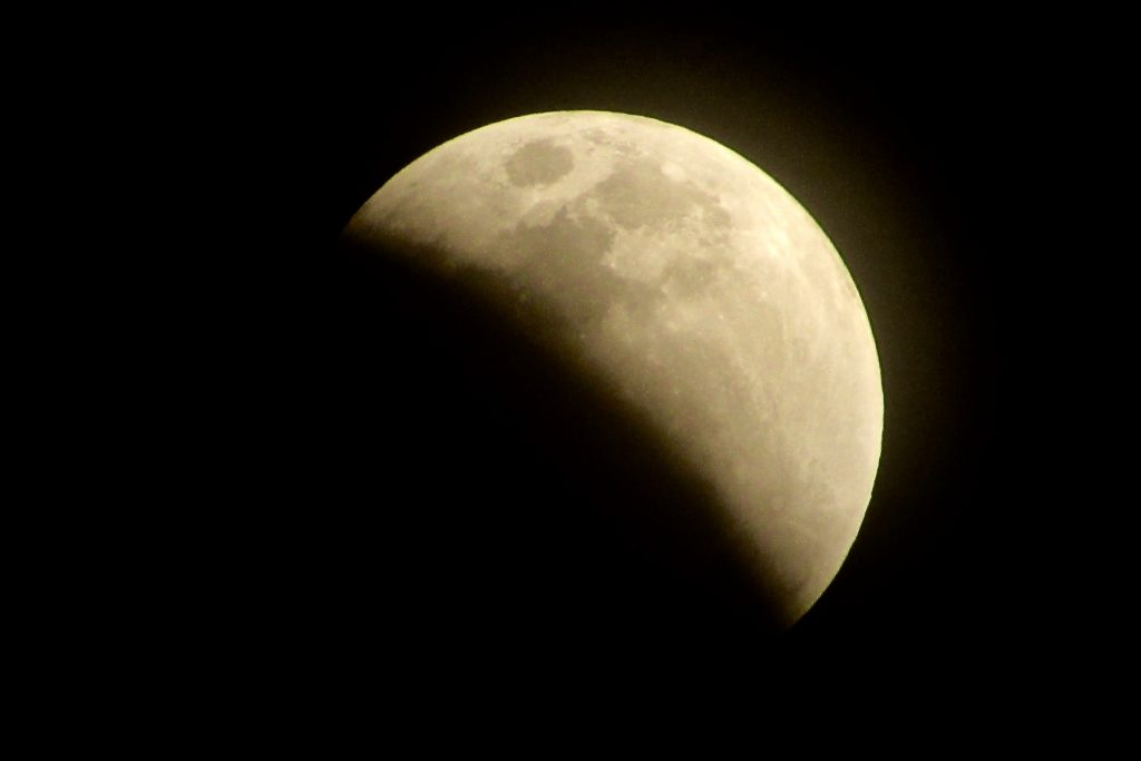3/31の満月,super Blue blood Moon
