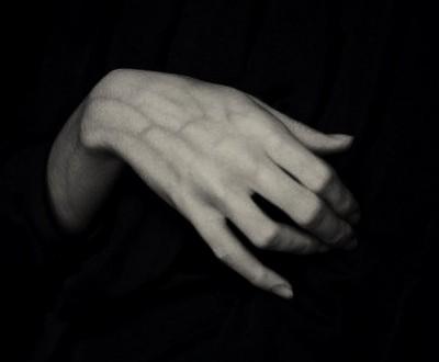 hand,flower,design