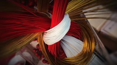 紅白,design